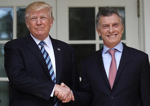 President Mauricio Macri