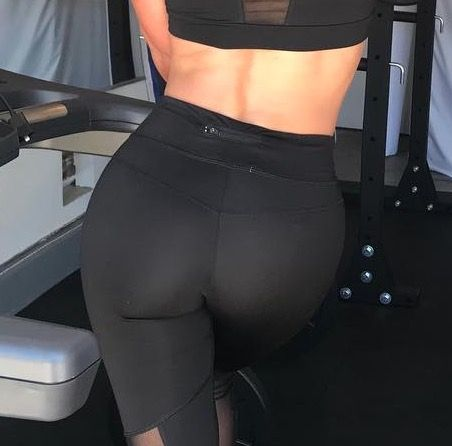 Guess whose glutes!