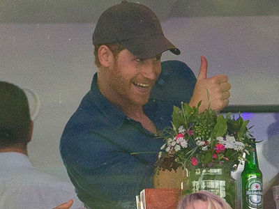 Prince Harry's Just Another Human Watching The Killers at British Summer Time
