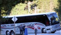 Julianne Hough's Rough Road to Marriage, Bus Breaks Down