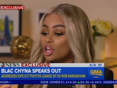 Blac Chyna Says Rob Kardashian Doesn't Respect Her, So He Can Tell it to the Judge