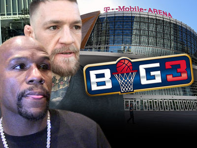 Conor, Floyd Strike Deal with BIG3 Over Venue Dispute, 'Generous Offer'