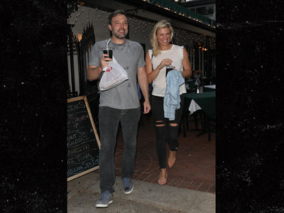 Ben Affleck Sweats His New Girlfriend