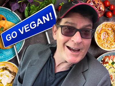 Charlie Sheen's Living That Healthy Vegan Life