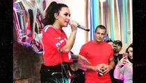 Demi Lovato Starts 'Sorry Not Sorry' House Party Tour with Rob Gronkowski in Boston