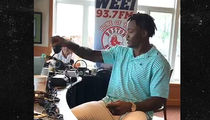 Brandon Marshall Walks Off Radio Show After Things Turn Racial