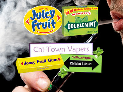 Wrigley Sues E-Cigarette Company For Wrapper Stealing
