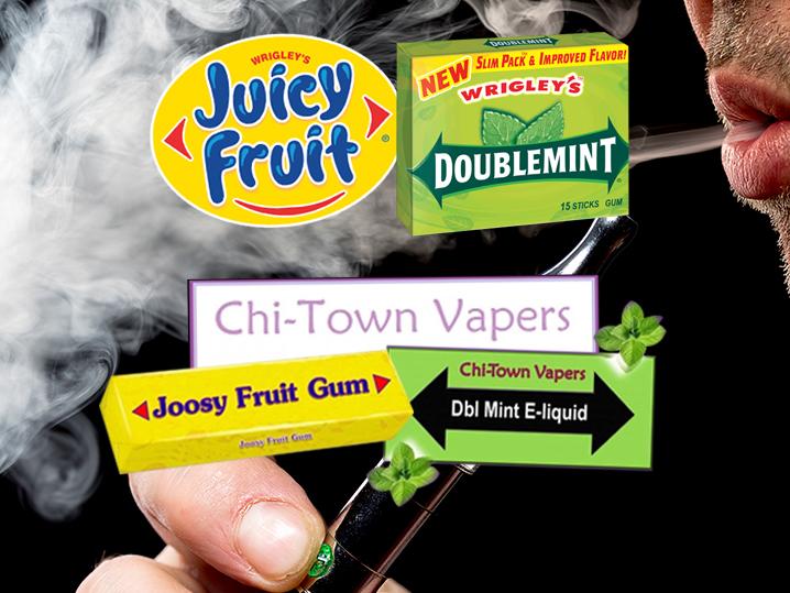 Wrigley Sues E-Cigarette Company For Wrapper Stealing - TMZ.com Wrigley Sues E-Cigarette Company For Wrapper Stealing - 웹