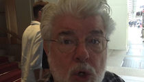 George Lucas Argues with Autograph Seekers About Making an Honest Living