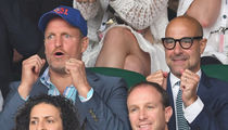 Celebs Enjoy Wimbledon 2017 Championship Match, Venus Williams v. Garbine Muguruza