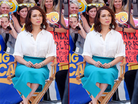 Can you spot the THREE differences in the Maya Rudolph photos?