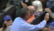 Chris Christie Gets Destroyed At Mets Game After Great Foul Ball Catch