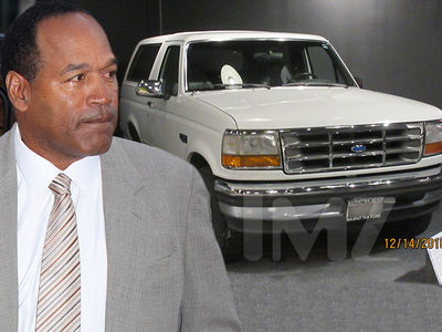 O.J. Simpson's Former Agent Will Sell the White Bronco Now if Price is Right