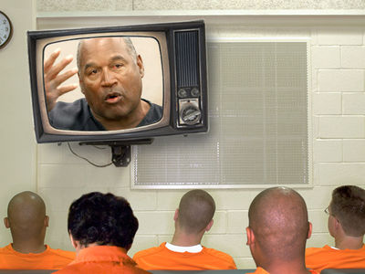 O.J. Simpson Parole Hearing, His Fellow Prison Inmates Will Be Watching