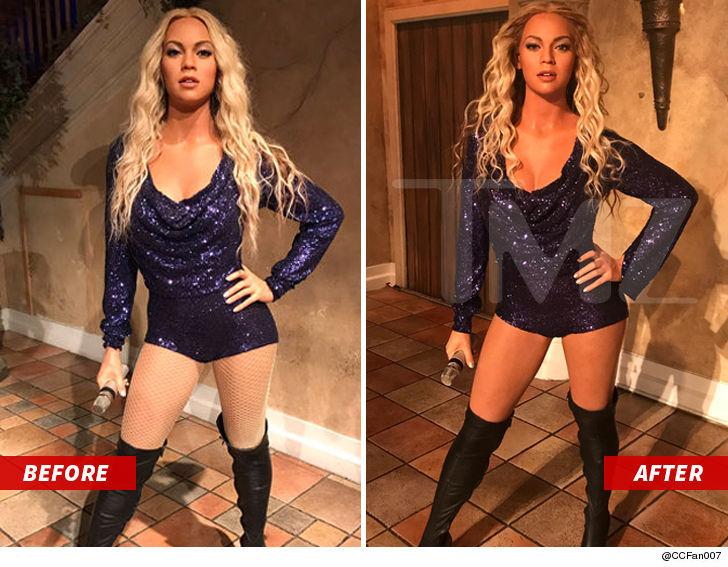 Beyonce's Madame Tussauds Wax Figure is Back on Display