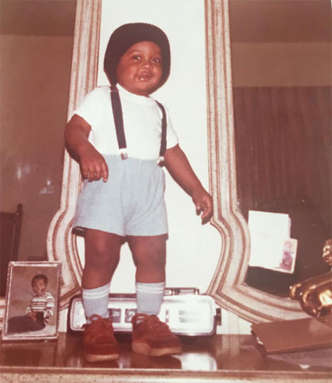 Before this cute kid was a putting his braces on blast as a huge television star, he was a suspense-full little kid growing up in Culver City, California.
