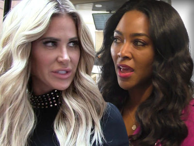Kim Zolciak Attacks Kenya Moore After Alleged Comments About Kim's Son
