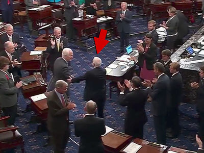 Senator John McCain Returns for Health Care Vote After Brain Cancer Diagnosis, Gets Standing Ovation
