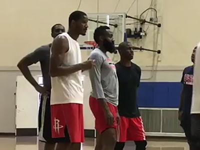 Chris Paul And James Harden Get First Run Together As Rockets Teammates