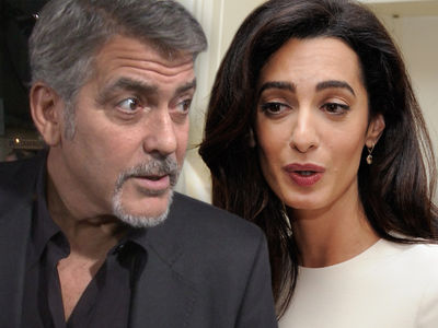 George Clooney Going to War with French Mag Over Twins' Photos