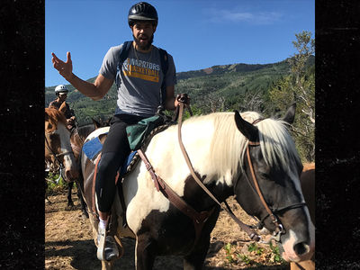 JaVale McGee Goes HAM on Horseback after Re-Upping with Warriors