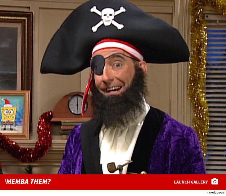 Patchy The Pirate On Spongebob Squarepants Memba Him Tmzcom
