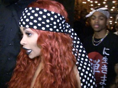 Blac Chyna Goes Redhead, Gets a Ton of Green for Club Appearance