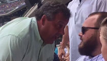 Chris Christie Gets in a Cubs Fan's Face, 'You're a Big Shot'