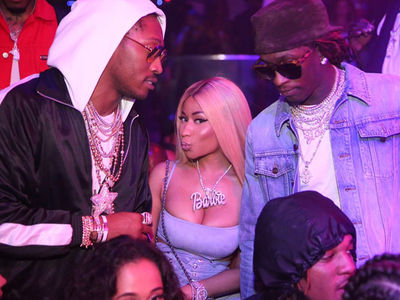 Future, Nicki Minaj Have The Baddest VIP Table In Miami