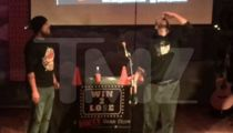 Dustin Diamond Drinks Chewing Tobacco Spit for $25 for Comedy Game Show