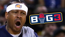 Allen Iverson Suspended 1 Game For BIG3 No-Show