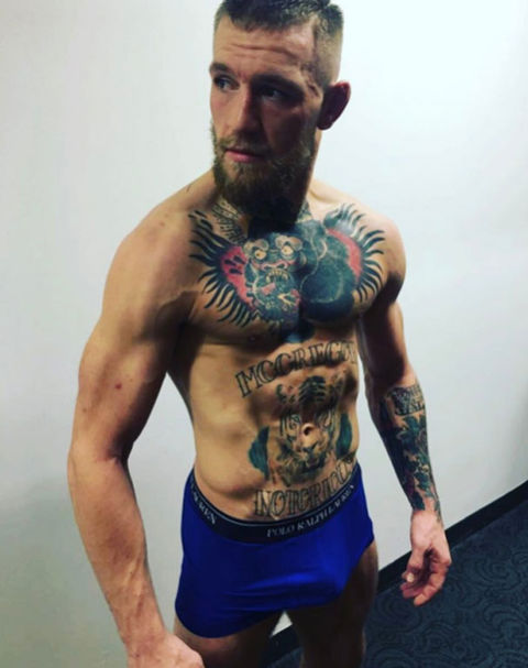 It's Conor McGregor!