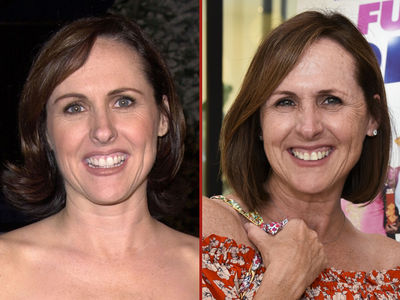 Molly Shannon -- Good Genes or Good Docs?