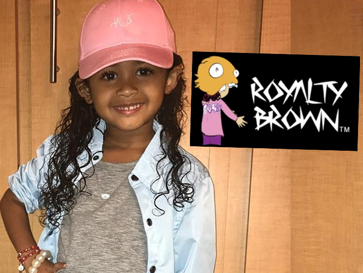 Chris Brown S Daughter Royalty Launching Kids Clothing Line Tmz Com