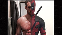 'Deadpool 2' Stars in Ripped Ab-Off, Ryan Reynolds vs. Josh Brolin