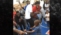 Joel Embiid Turns Up with Break-Dancing Kid in Africa