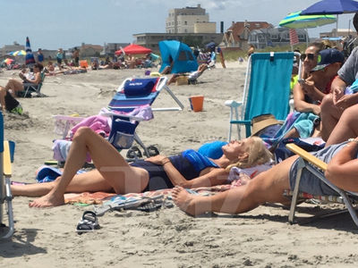 Kellyanne Conway Catches Vacation Sun After New Jersey Beaches Reopen