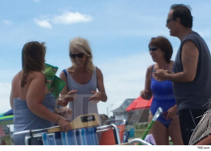 Kellyanne Conway Catches Vacation Sun After New Jersey