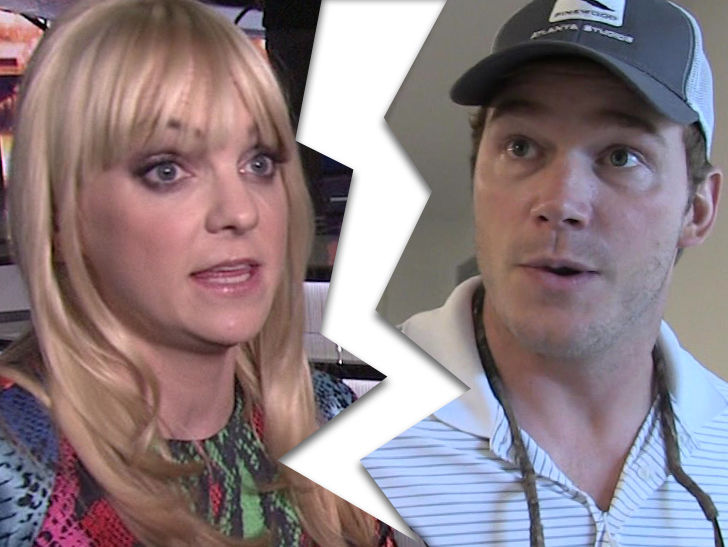 Anna Faris and Chris Pratt Separating After 8 Years of ...