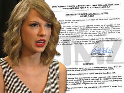 Taylor Swift Jury Selection Tries to Weed Out Super Fans