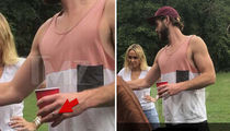 Liam Hemsworth's Band on His Ring Finger Ain't What You Think