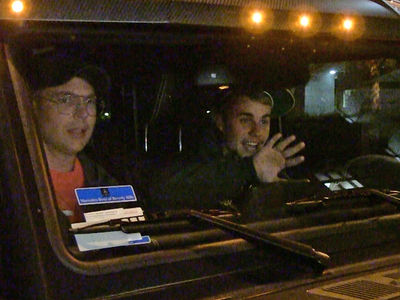 Justin Bieber Back Behind the Wheel, Politely Asks Paps to Stay Clear