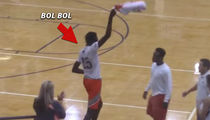 Bol Bol's AAU Team Quits Game In 2nd Half Over Ref