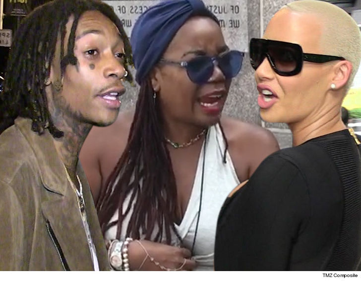 8628f4948d82 Amber Rose Sued for Defamation by Wiz Khalifa s Mom