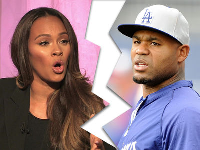 Evelyn Lozada Splits with Carl Crawford, 'We're Still Friends'
