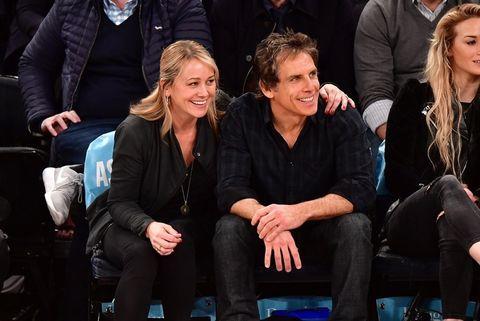 Ben Stiller and Christine Taylor