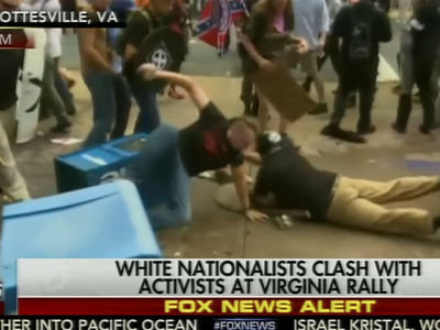 Alt-Right Rally in Charlottesville, Virginia Sparks Riots, State of Emergency Declared