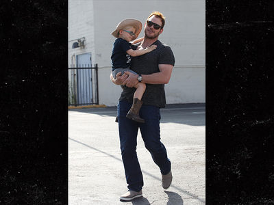 Chris Pratt Takes Son, Jack, to Church Solo After Split from Anna Faris