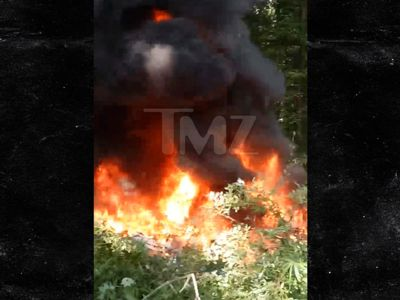 Charlottesville Police Helicopter Crash, Firey Aftermath Caught on Video