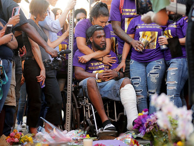 Charlottesville Victims Return To Scene Of Crime For Memorial